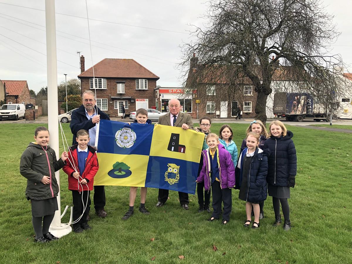 Celebrating the Village Flag Design